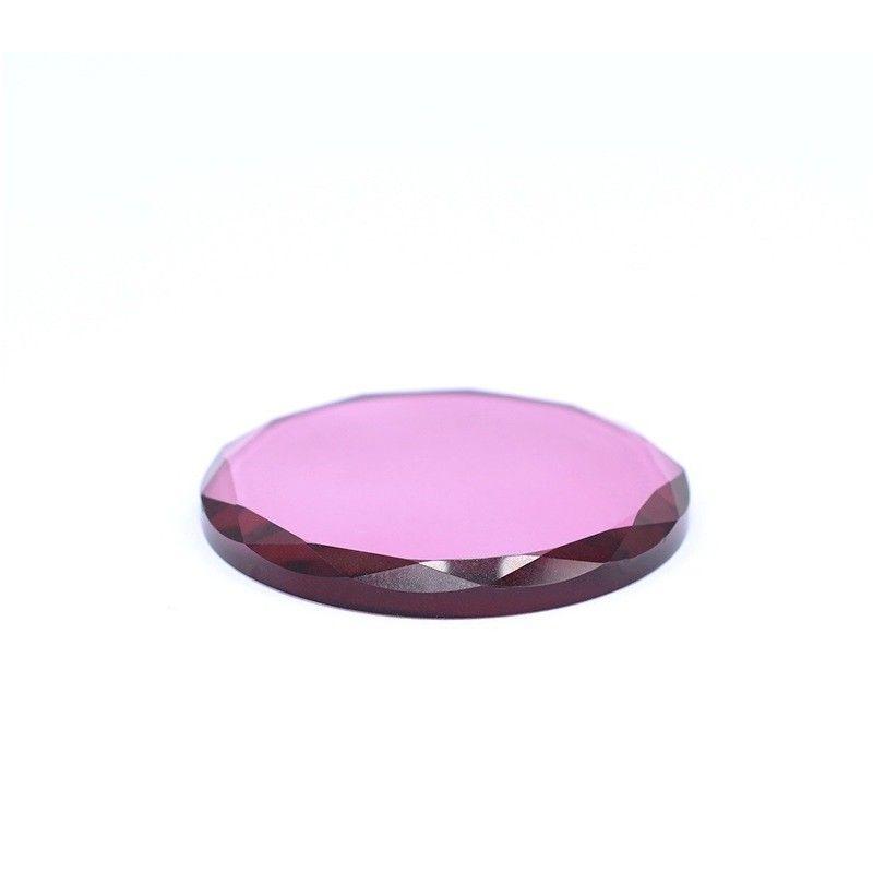Support colle en verre coloré
